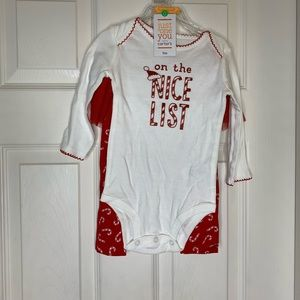Carters Girls Size 9M Holiday Casual Outfit